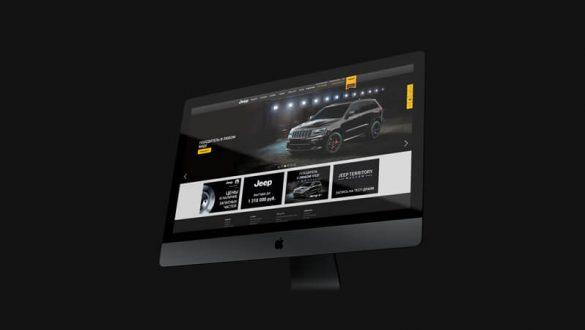 Программатик видеореклама +  Dynamic Creative для автодилера Jeep