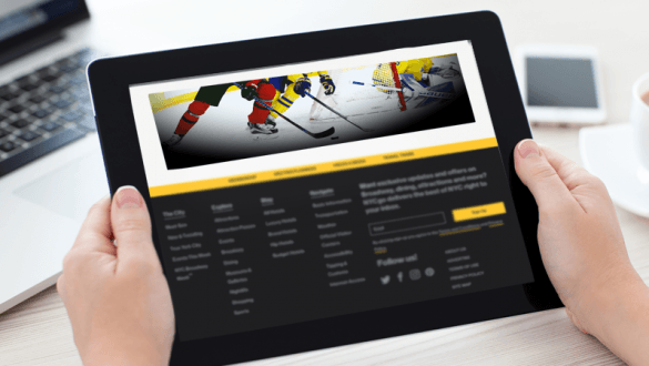 Programmatic advertising increased traffic for IIHF