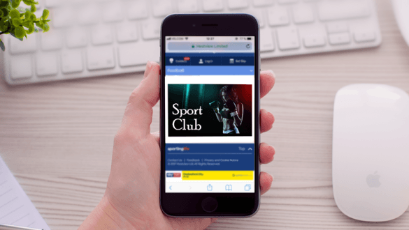 Programmatic for sport club
