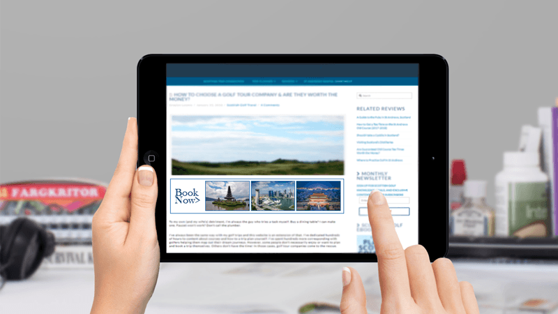 Programmatic solution for online tour reservation system