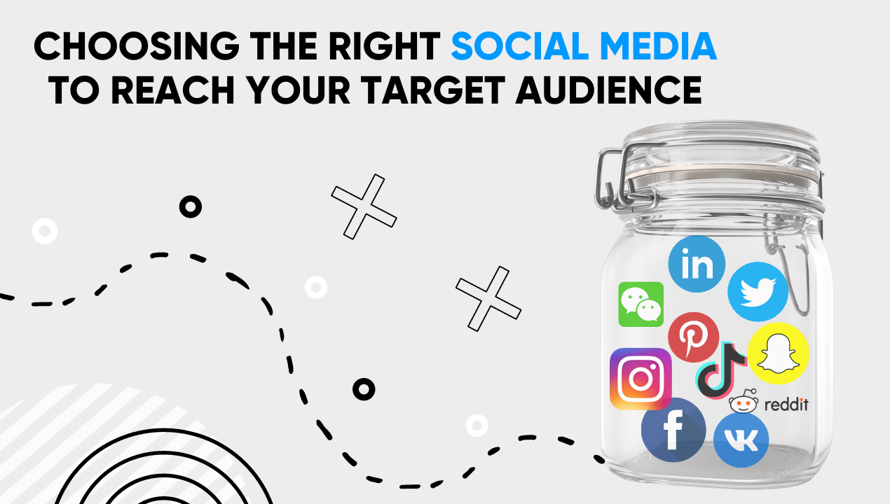 Choosing the right social media to reach your target audience