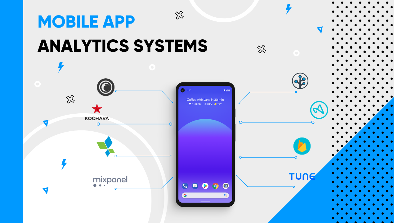 Mobile app analytics systems
